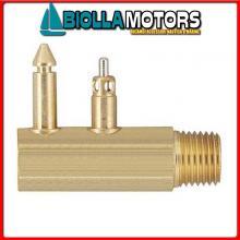 4036525 INNESTO M EVIN/JOHN TANK OTTONE Innesti Carburante per Motori Evinrude/Johnson