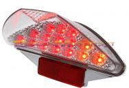 STR-656.98/CE FARO POSTERIORE con microleds rossi + frecce incorporate- Aerox/Nitro