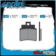 174.0037 PASTIGLIE FRENO POLINI POSTERIORE KYMCO ATV MXU 250 250CC 2005- ORGANICA