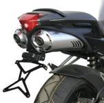 8909994 PORTATARGA MOTO REGOLABILE IN ACCIAIO YAMAHA FZ6 S2 600 cc. 2007