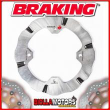 BY9008 DISCO FRENO POSTERIORE BRAKING CAN-AM RENEGADE 1000 976cc 2018- WAVE FLOTTANTE