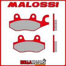 6215055BR COPPIA PASTIGLIE FRENO MALOSSI Posteriori WT MOTORS MIAMI 250 4T LC (172MM) MHR Anteriori - Posteriori