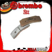 2-07B36640 KIT PASTIGLIE FRENO BREMBO [Z03] XB2P710 - PINZA FRENO SX RADIALE BREMBO CNC ENDURANCE P4 ?30/34 108mm - [ANTERIORE]
