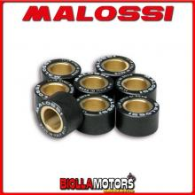 669919.M0 8 RULLI VARIATORE MALOSSI D. 20X12 GR. 14,5 KYMCO SUPER DINK 300 IE 4T LC EURO 3 2012-> (SK60A) - -