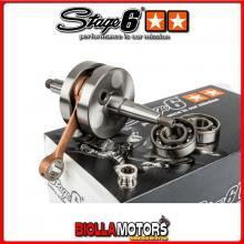 S6-8018801 Albero Motore Stage6 HPC MKII Biella 85mm SP12 MBK X-limit enduro 50cc (prima del '03) am6 - (tubolare) STAGE6 RT