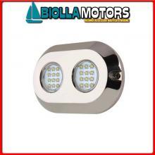 2121630 FARETTO SUB LED OVAL 120W WHITE< Faro Subacqueo WK LED-120W