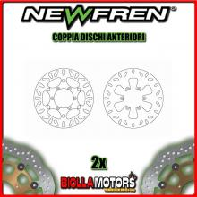 2-DF4090A PAIRES DISQUES DE FREIN AVANT NEWFREN MALAGUTI SPIDERMAX 500cc GT 2004-2005 FISSO