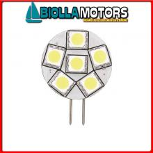 2167511 LAMPADINA LED G4 12/24V D28 SIDE PIN Lampadine LED G4