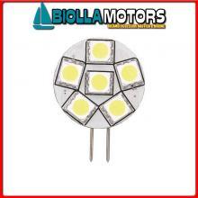 2167521 LAMPADINA LED G4 12/24V D28 BACK PIN< Lampadine LED G4