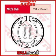 MCS956 GANASCE FRENO ANTERIORE TRW MBK BW 50 alle Modelle 1990-1996 [ORGANICA- ]