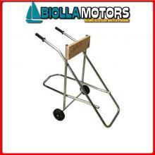 2802020 CAVALLETTO FUORIBORDO ROLL STD H90 CAVALLETTO FUORIBORDO Porta Motore Standard Roll