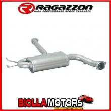 57.0029.00 SCARICO Evo One Alfa Romeo GTV(916) / SPIDER 1995>2004 2.0 V6 Turbo (148Kw) 1995> Centrale inox