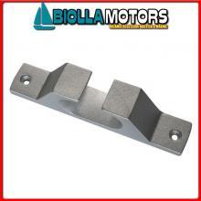 1132534 PASSACAVI 140 STD ALU< Passacavi in Linea in Alluminio Edge