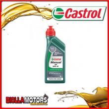 1 LITRO OLIO CASTROL MANUAL EP 80W90 LT.1 TRASMISSIONE INGRANAGGI (OLIO CAMBIO AUTO API GL4)