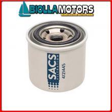 4121445 CARTUCCIA DIESEL Y-129470-55810C< Filtro Gasolio Sacs per Motori 3JH../4JH../2DTE