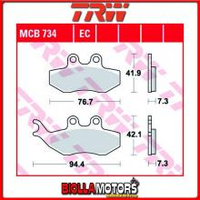 MCB734EC PASTIGLIE FRENO ANTERIORE TRW CPI GTS 50 2002-2003 [ORGANICA- EC]