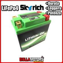 HJTX14AHQ-FP BATTERIA LITIO SKYRICH YTX14AH-BS LiFePo4 - YTX14AHBS MOTO SCOOTER QUAD CROSS