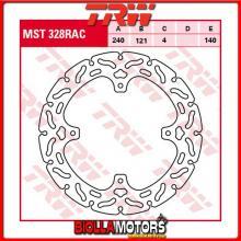 MST328RAC DISCO FRENO POSTERIORE TRW Honda CR 125 R 2002-2003 [RIGIDO - CON CONTOUR]