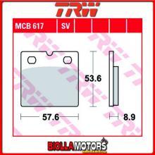 MCB617 PASTIGLIE FRENO ANTERIORE TRW Quadzilla RL 500 Buggie 2008- [ORGANICA- ]