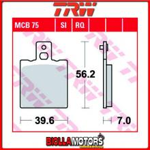 MCB75 PASTIGLIE FRENO ANTERIORE TRW Malanca 125 Mark 1985- [ORGANICA- ]