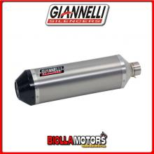 73806T6Y+71211IN TERMINALE GIANNELLI IPERSPORT HONDA MSX 125 2013-2015 TITANIO/CARBONIO + COLLETTORE RACING
