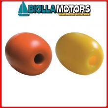 3820416 GALLEGGIANTE DURAFLOAT 17.5 YELLOW Galleggiante con Foro Passante Dura Float Olive