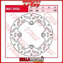 MST245SL DISCO FRENO POSTERIORE TRW Triumph 955 Daytona 1997-2001 [RIGIDO - SPORTIVO CON CONTOUR]