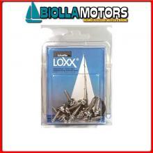 3214290 CONFEZIONE VITE 12MM LOXX/TENAX 10PZ 10 Viti Mordenti Loxx - Tenax in Blister