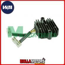 S1003S REGOLATORE DI TENSIONE WAI Honda CB650C Custom 1980-1981 627cc w/two female plugs