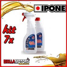 KIT 7X IPONE MOTOWASH POLVERIZZATORE + RICARICA 2X500ML - 409703150