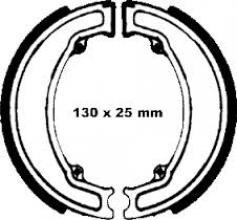 FG0963 GANASCE POSTERIORI 125 X 25MM ETRE HONDA SH 125/150/ DYLAN 125