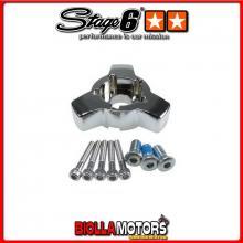 S6-1501003/CR Supporto disco anteriore STAGE6 x doppio disco anteriore