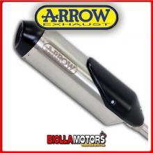 53528STP TERMINALE ARROW REFLEX APRILIA SCARABEO 200 i.e. 2009-2011 INOX/DARK