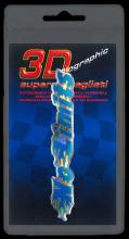 398 ADESIVO 3D SYMBOL SUPERDETTAGLIATO - NO LIMITS BLU