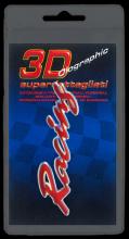 383 ADESIVO 3D SYMBOL SUPERDETTAGLIATO - RACING ROSSO