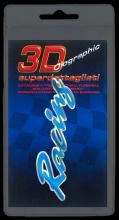 386 ADESIVO 3D SYMBOL SUPERDETTAGLIATO - RACING BLU