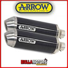 71677MO MARMITTE ARROW RACE-TECH APRILIA RSV 1000 R Factory 2004-2008 CARBONIO/INOX