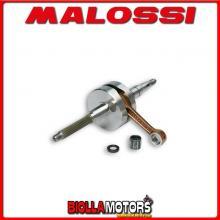 538008 ALBERO MOTORE MALOSSI RHQ APRILIA AMICO 50 2T BIELLA 80 - SP. D. 12 CORSA 39,2 MM -