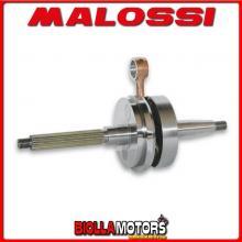 5312331 ALBERO MOTORE MALOSSI RHQ GILERA RUNNER PUREJET 50 2T LC <-2005 SP. D. 12 CORSA 39,3 MM -