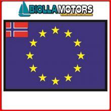 3403330 BANDIERA NORVEGIA UE 30X45CM Bandiera Norvegia UE