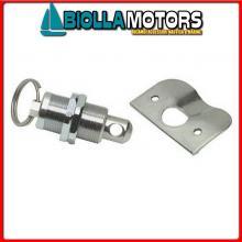 0342101 ARRESTO MOLLA INOX Chiusura a Molla Locking Hasp
