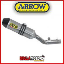 75115TK TERMINALI ARROW RACE-TECH HONDA CRF 450 R 2013-2014 TITANIO/CARBONIO