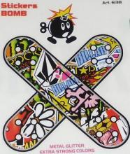 6138 ADESIVO STICKERS BOMB CEROTTI 85X85