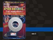 10235 WHEEL STRIPE FLUORESCENT BLU 5MM X 6 MT