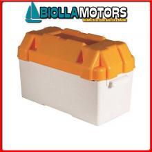 2030006 CASSETTA BATTERIA 450x220x270 Portabatteria in ABS (80A)