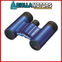 2530911 BINOCOLO NIKON T01 8X21 BLUE Binocolo Nikon Aculon T01