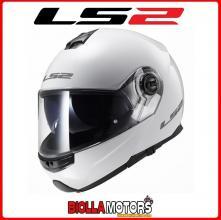 503251002/XXL CASCO MODULARE LS2 FF325 STROBE BIANCO LUCIDO TAGLIA XXL