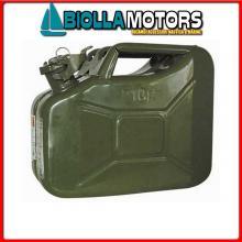 4021020 TANICA METAL 20LT Taniche Military per Carburante