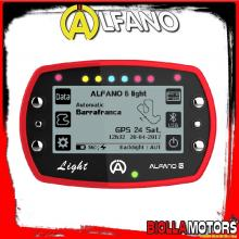 A1055 STRUMENTAZIONE ALFANO 6 LIGHT LAP TIMER GPS RPM TEMPERATURA CONTAORE