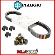 B016183 CINGHIA DI TRASMISSIONE RULLI E CURSORI ORIGINALE PIAGGIO VESPA LX 150 4T 3V IE NOABS E3 2012-2013 (EMEA)
